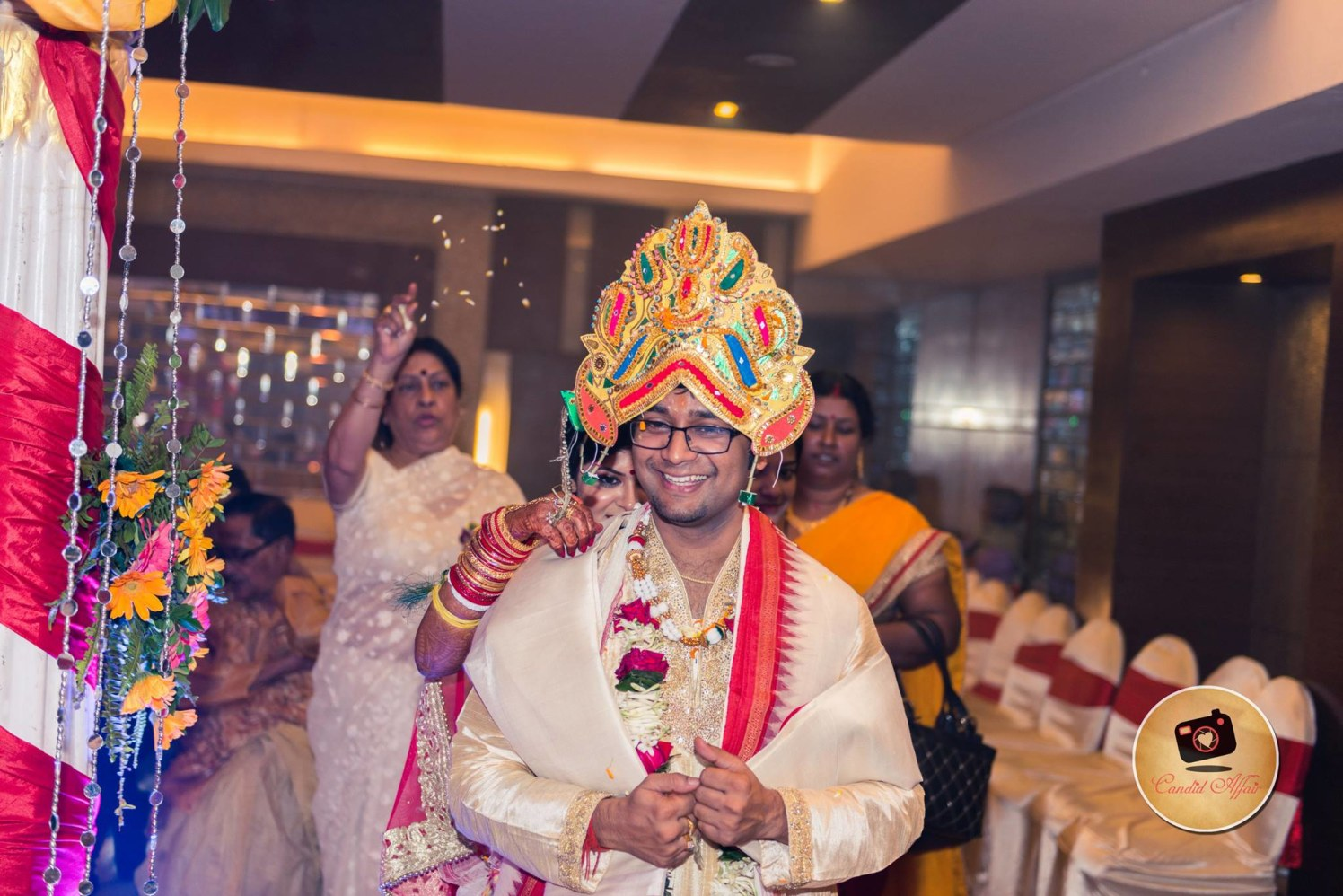 Groom Shot On Wedding Day by Candid Affair Wedding-photography | Weddings Photos & Ideas