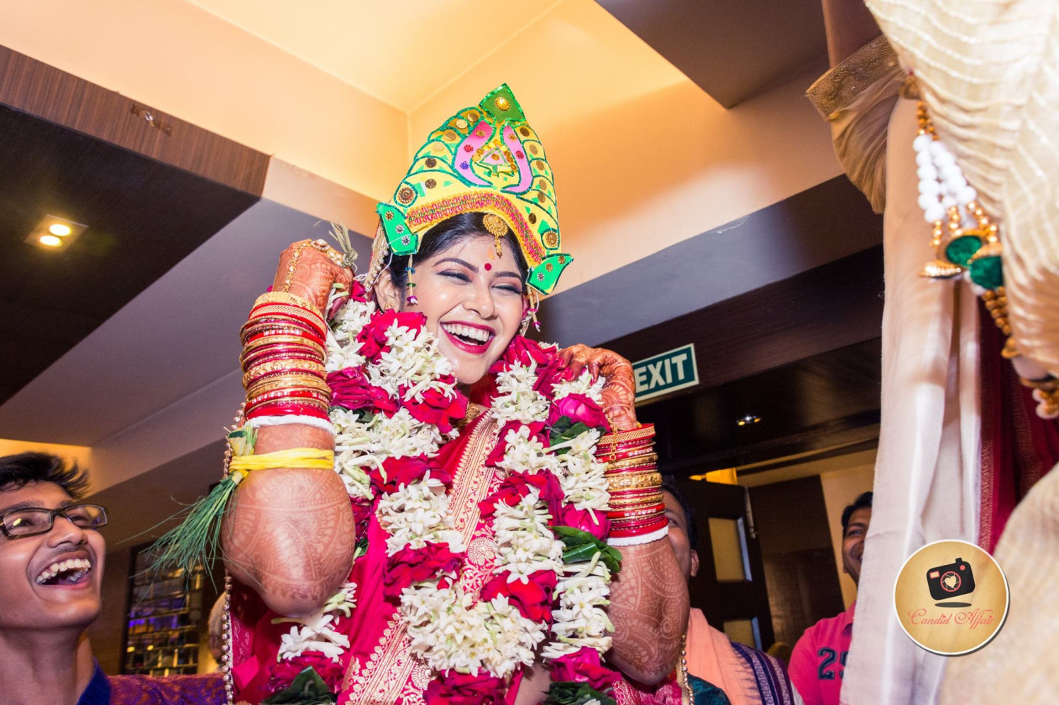 Happy Shot Of South Indian Bride by Candid Affair Wedding-photography | Weddings Photos & Ideas