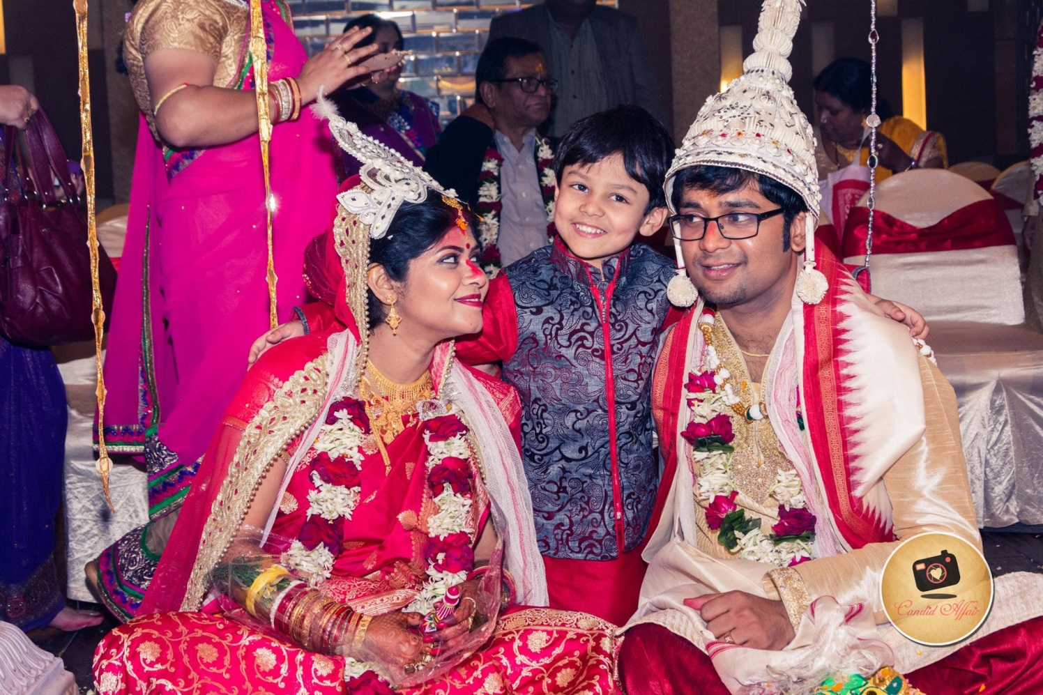 The Cute Little Guest On Wedding Day by Candid Affair Wedding-photography   Weddings Photos & Ideas