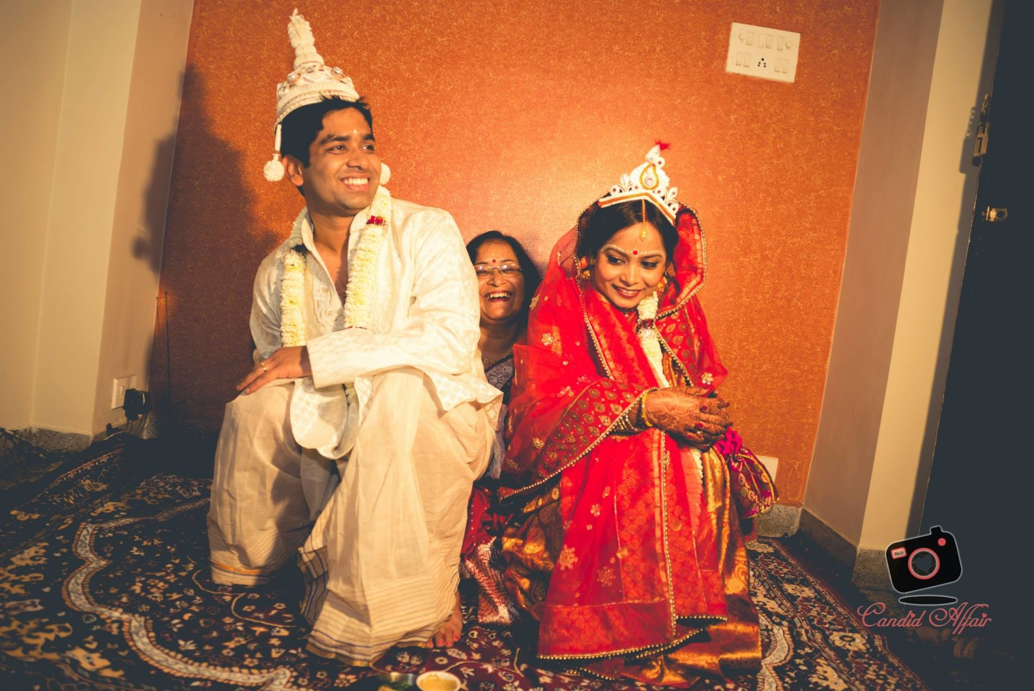 Candid Photography Of Bride And Groom by Candid Affair Wedding-photography | Weddings Photos & Ideas
