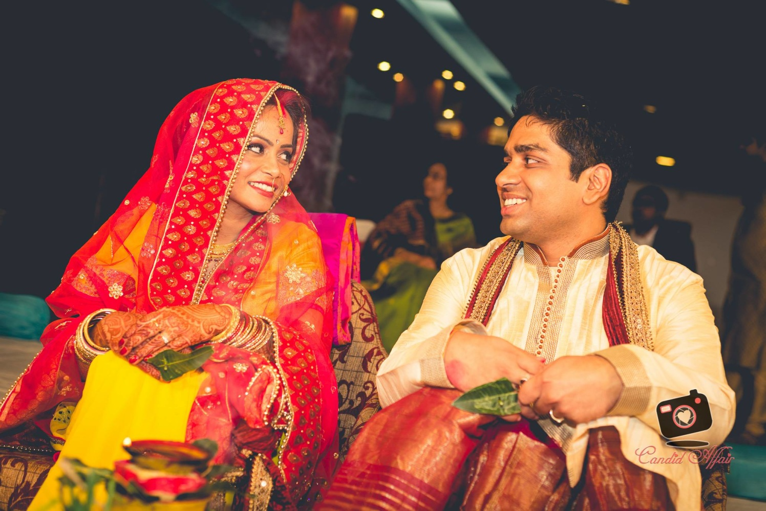 Bride And Groom's Candid Shot by Candid Affair Wedding-photography | Weddings Photos & Ideas