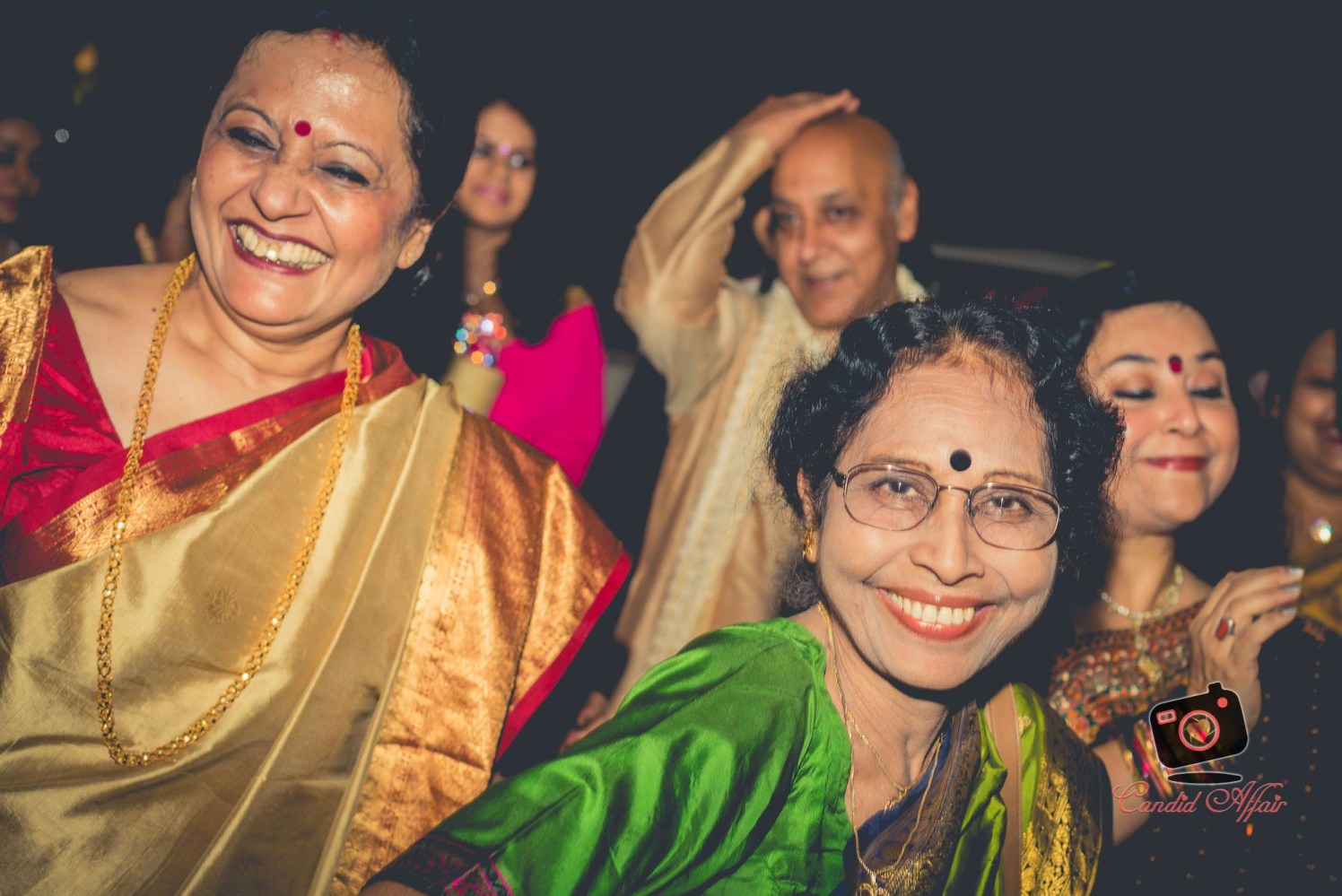 Candid Shot Of Wedding Guests by Candid Affair Wedding-photography   Weddings Photos & Ideas