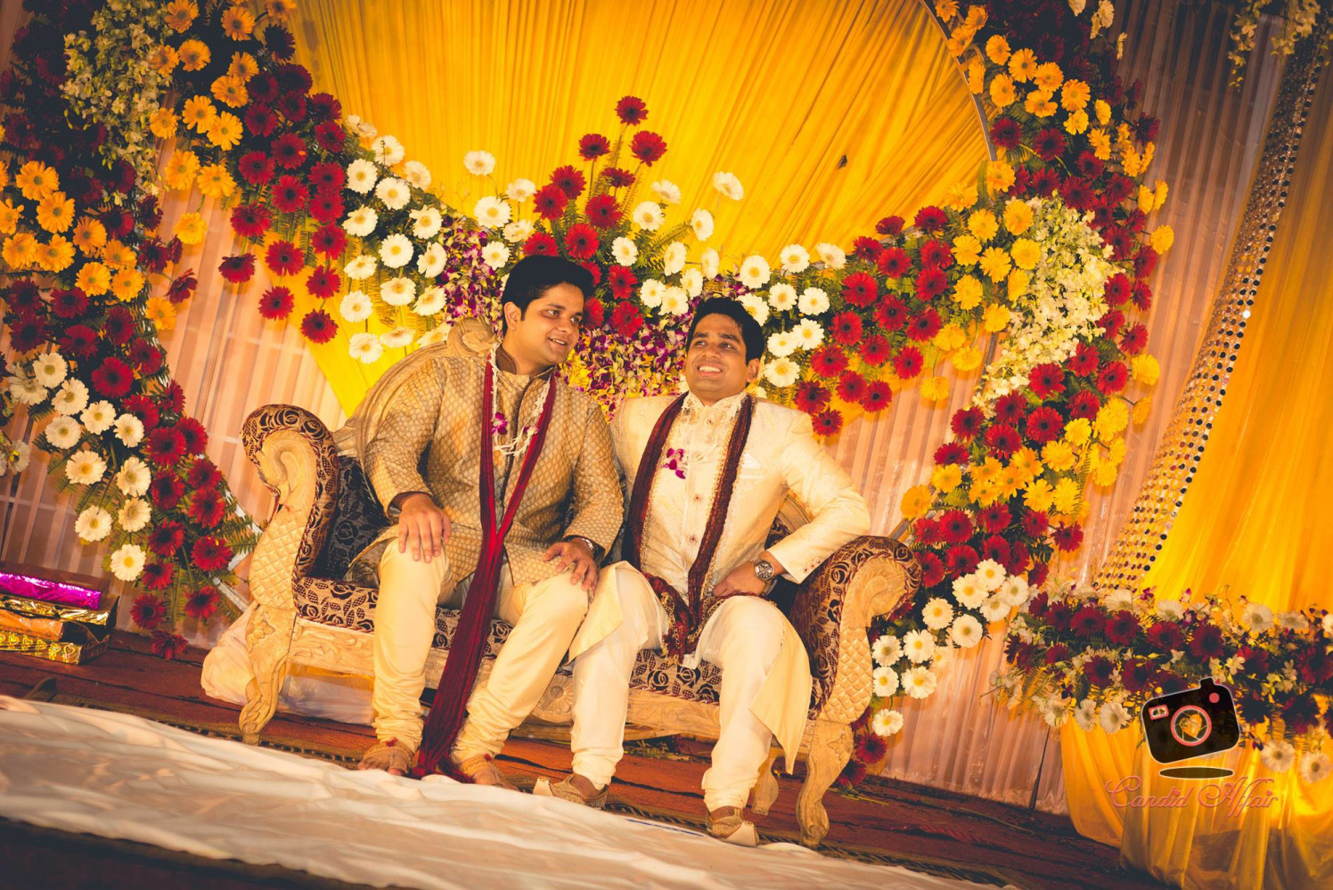 Groom's Shot With Friend On Wedding Day by Candid Affair Wedding-photography Wedding-decor | Weddings Photos & Ideas
