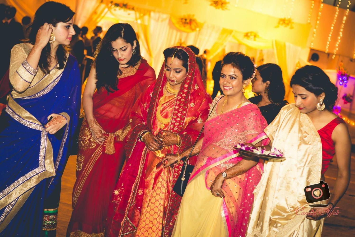 Bride With Bridesmaids by Candid Affair Wedding-photography   Weddings Photos & Ideas