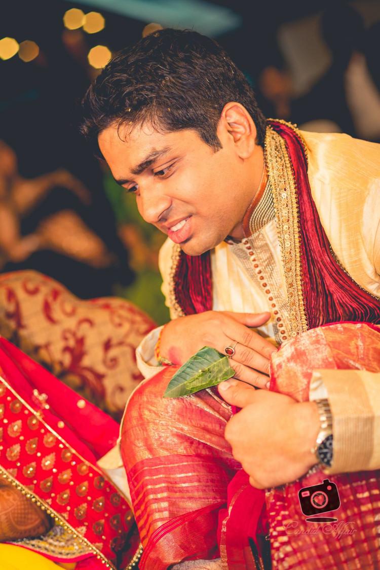 Candid Shot Of Groom by Candid Affair Wedding-photography | Weddings Photos & Ideas