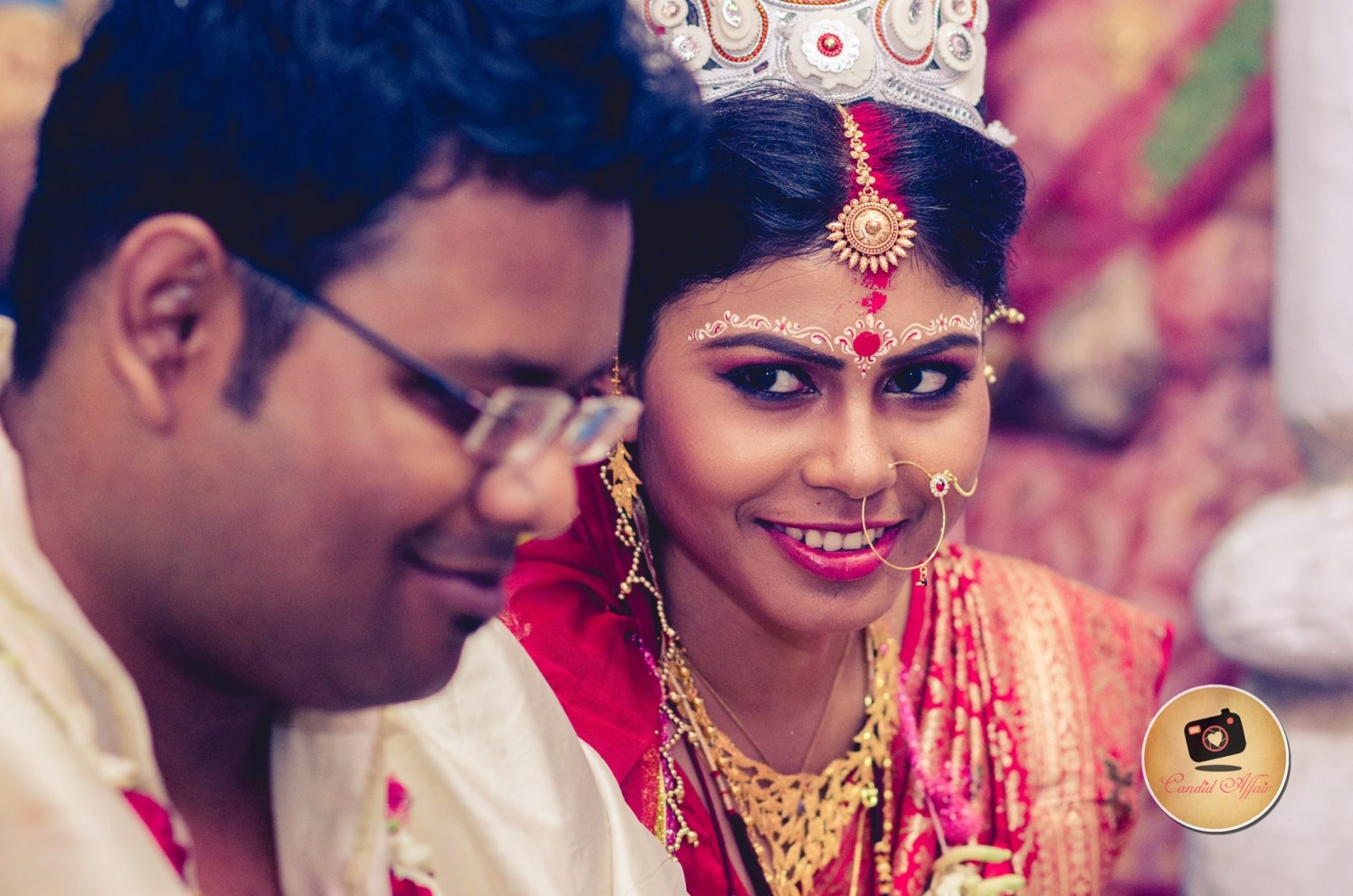 Life is beautiful when you smile by Candid Affair Wedding-photography | Weddings Photos & Ideas