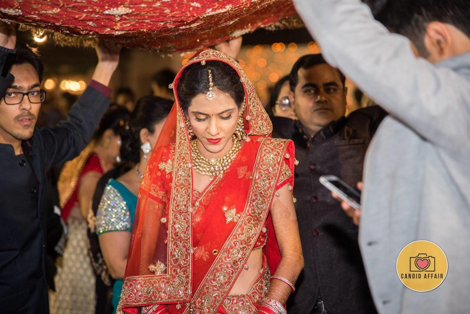 Indian Bride by Candid Affair Wedding-photography | Weddings Photos & Ideas