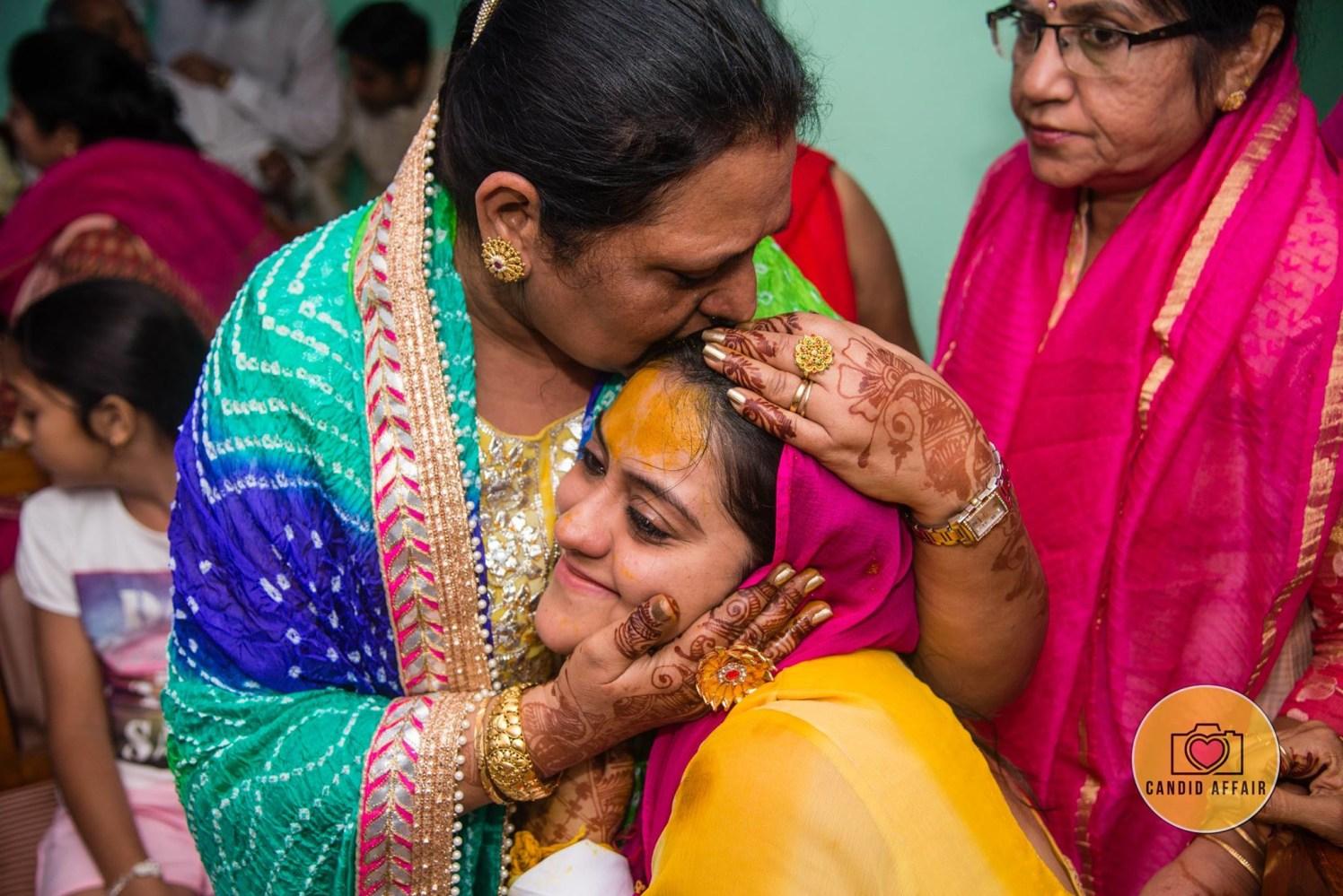 Candid Shot Of The Bride On Haldi by Candid Affair Wedding-photography | Weddings Photos & Ideas