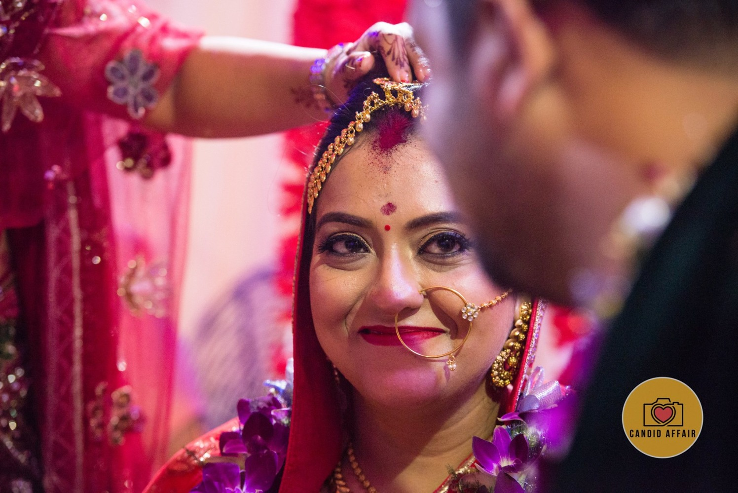 Makeup Options For Bride On Wedding Day by Candid Affair Wedding-photography Bridal-jewellery-and-accessories Bridal-makeup | Weddings Photos & Ideas