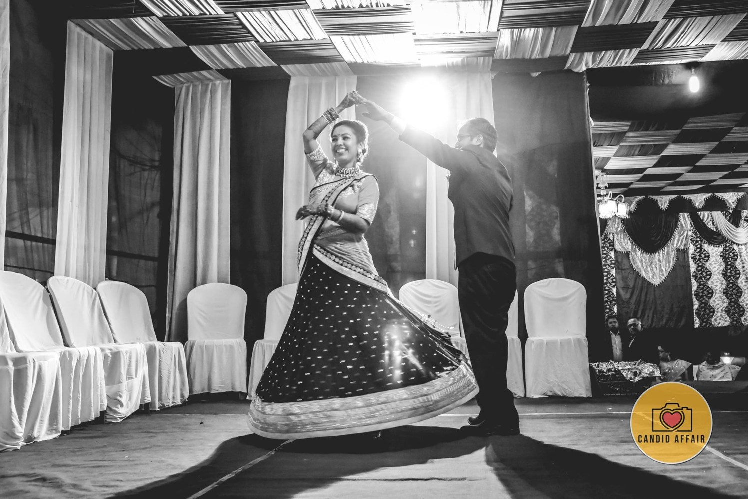 Twirling Shot Of The Bride by Candid Affair Wedding-photography | Weddings Photos & Ideas