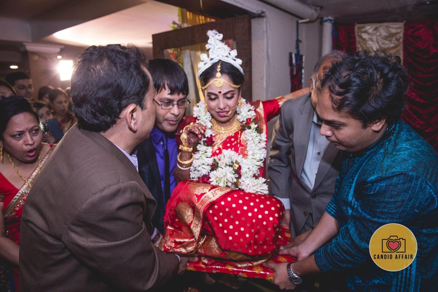Bengali Wedding Day Traditions by Candid Affair Wedding-photography | Weddings Photos & Ideas