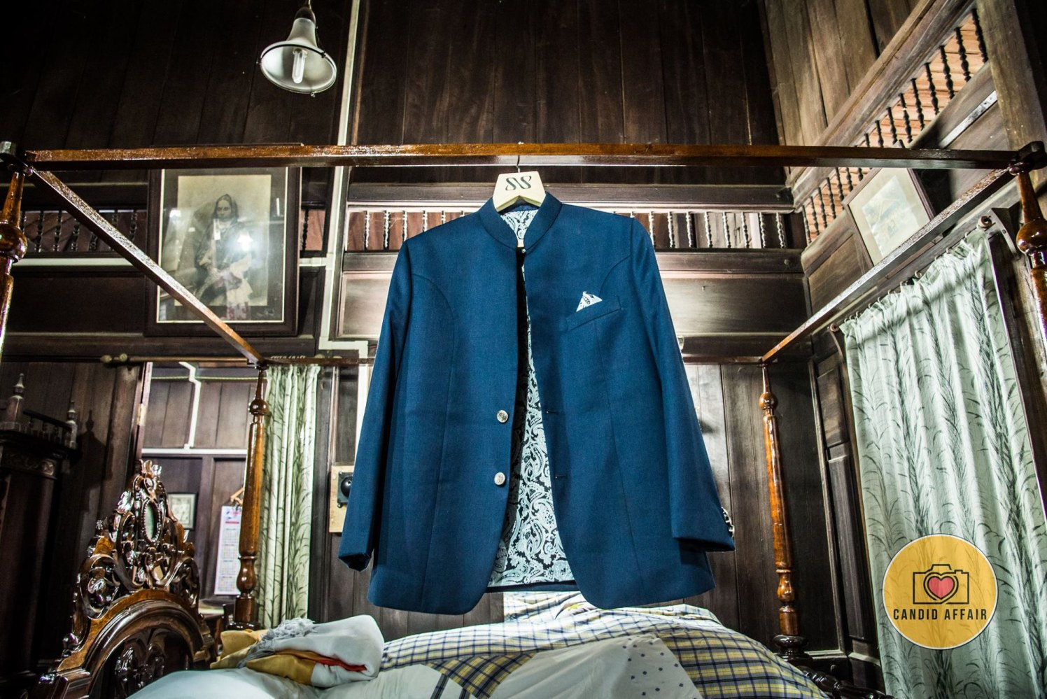 Blue Shaded Groom Suit For The Reception by Candid Affair Wedding-photography Groom-wear-and-accessories | Weddings Photos & Ideas