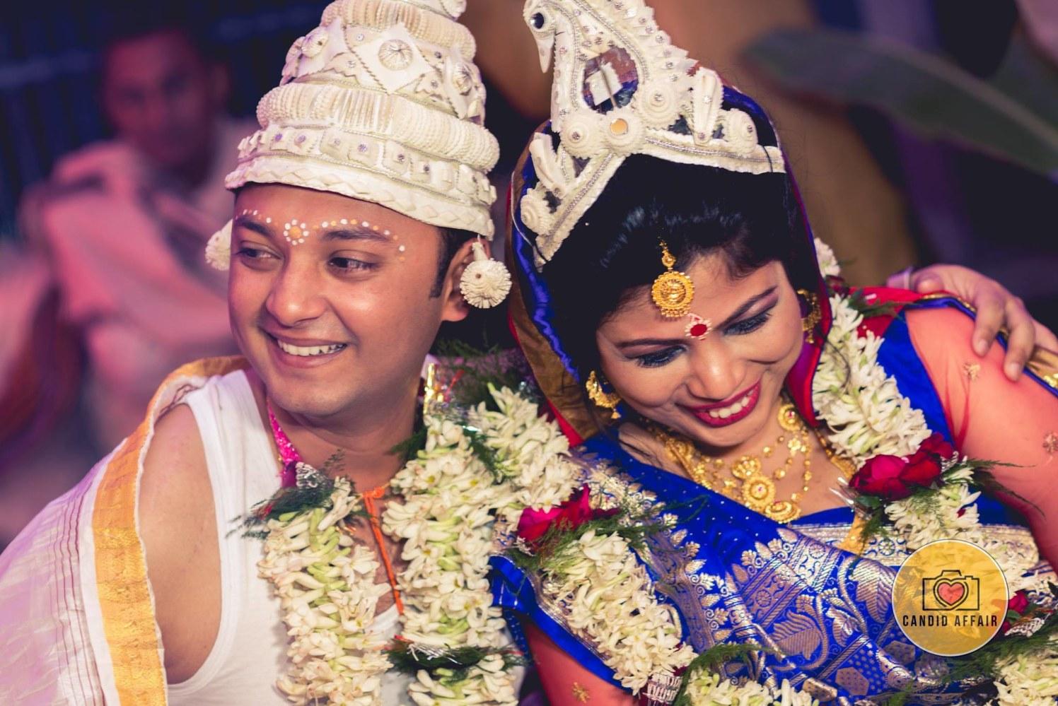 Splendid Couple Portrait by Candid Affair Wedding-photography Bridal-jewellery-and-accessories | Weddings Photos & Ideas