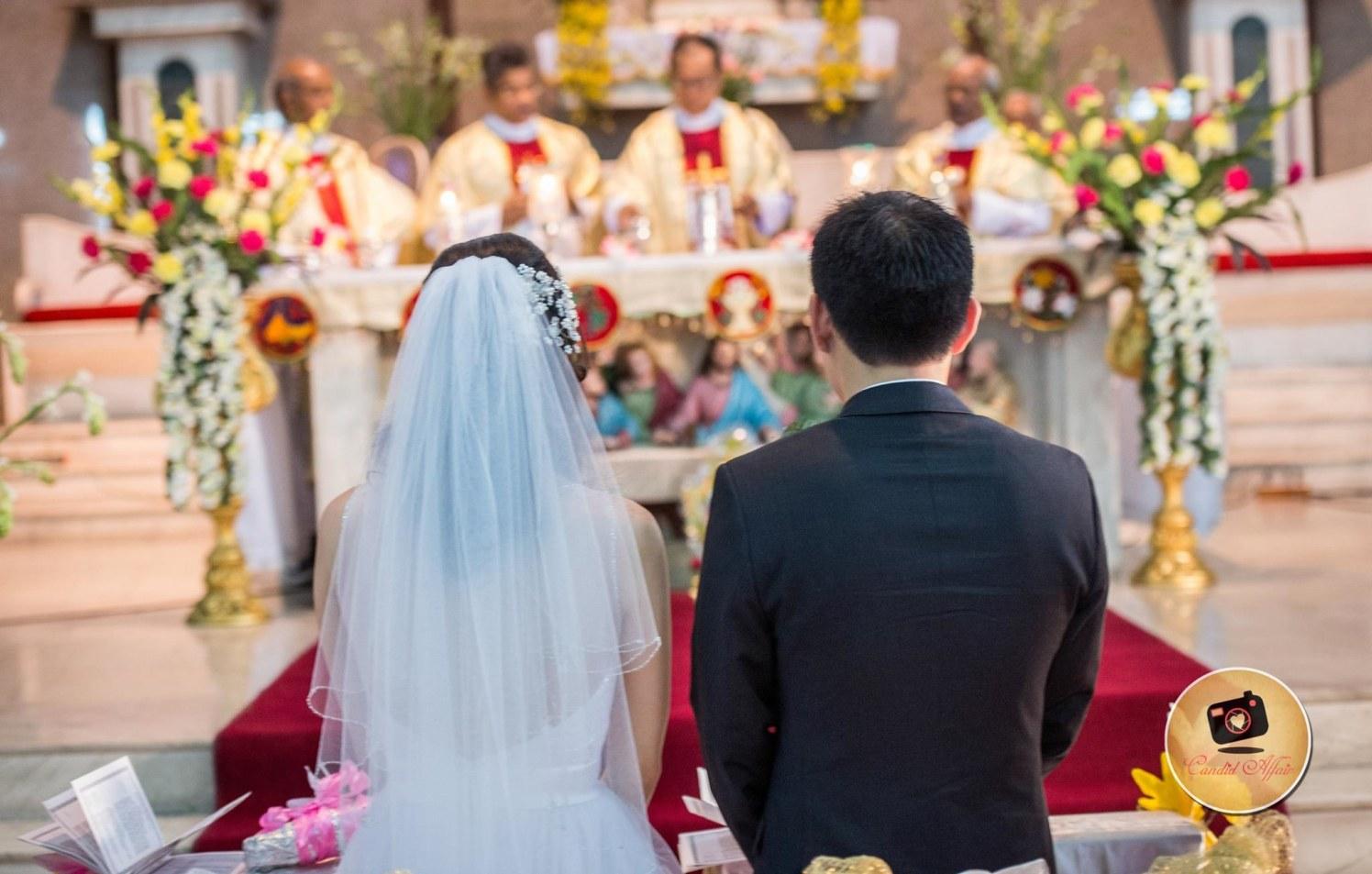 Christian Wedding Day Rituals by Candid Affair Wedding-photography | Weddings Photos & Ideas