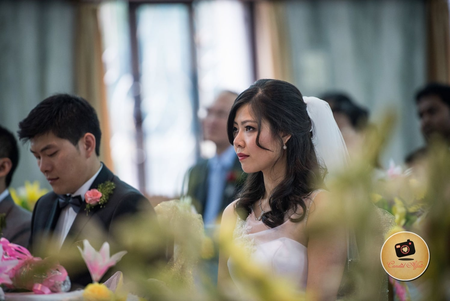 Christian Bride Wearing Subtle Makeup by Candid Affair Wedding-photography | Weddings Photos & Ideas