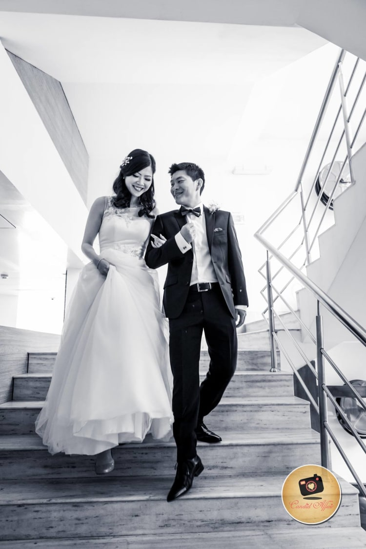 Black And White Couple Portrait by Candid Affair Wedding-photography Groom-wear-and-accessories   Weddings Photos & Ideas