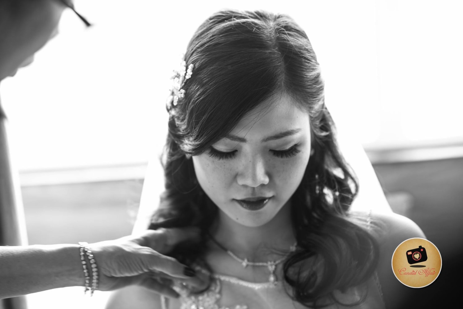 Candid Bridal Portrait On Wedding Day by Candid Affair Wedding-photography | Weddings Photos & Ideas