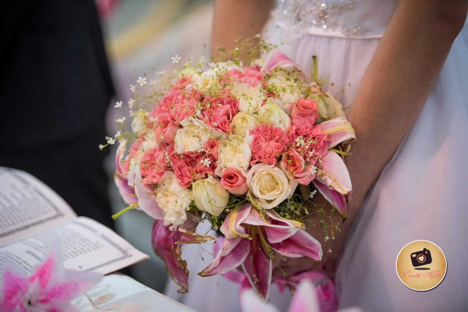 A Stunning Bouquet For The Christian Bride by Candid Affair Wedding-photography | Weddings Photos & Ideas