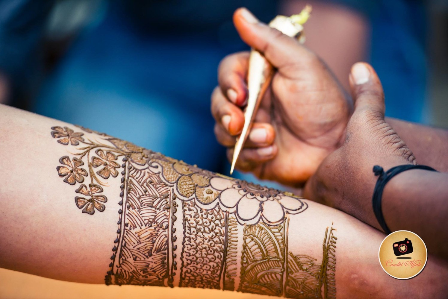 Henna art by Candid Affair Wedding-photography | Weddings Photos & Ideas