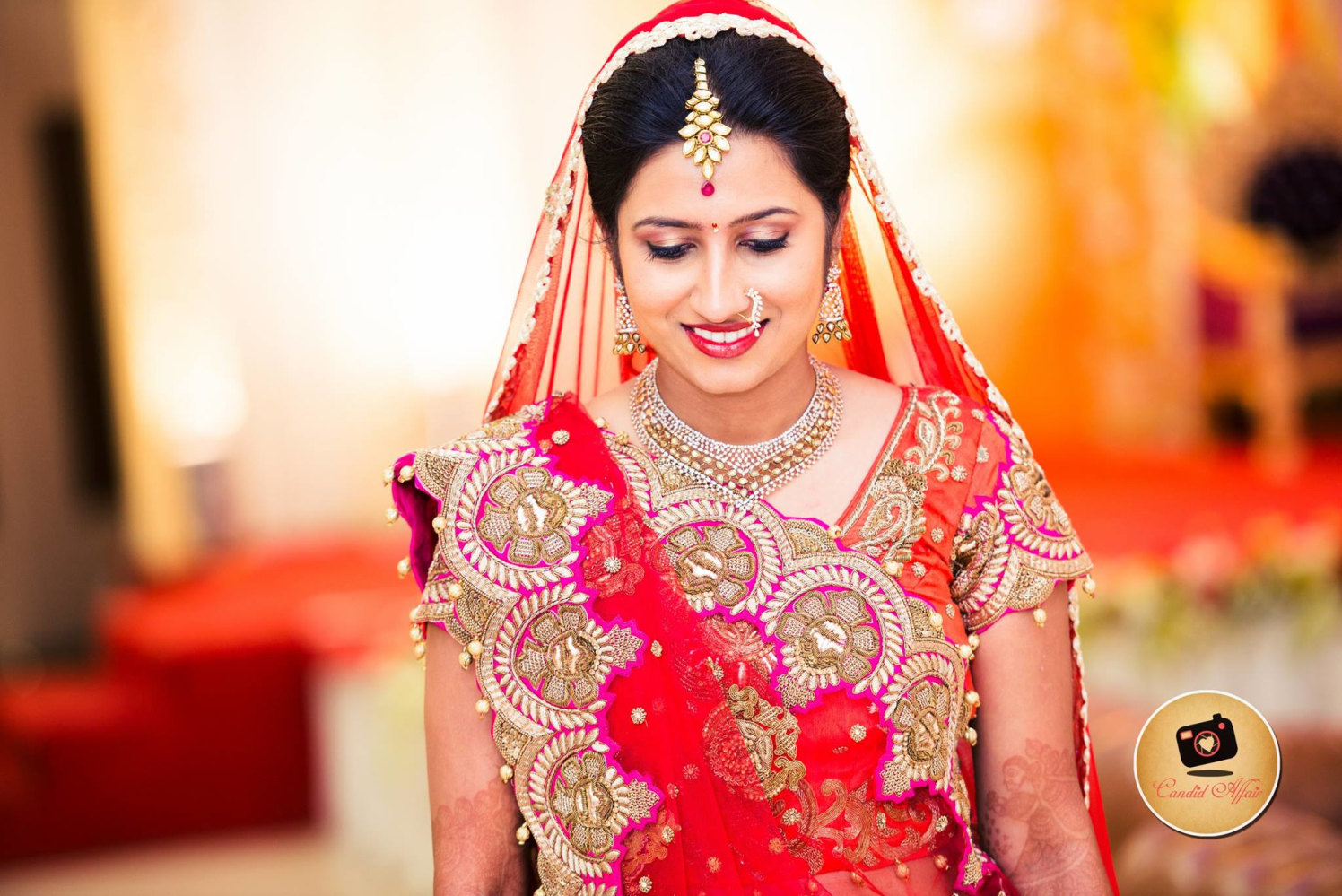 Smiling beauty by Candid Affair Wedding-photography | Weddings Photos & Ideas