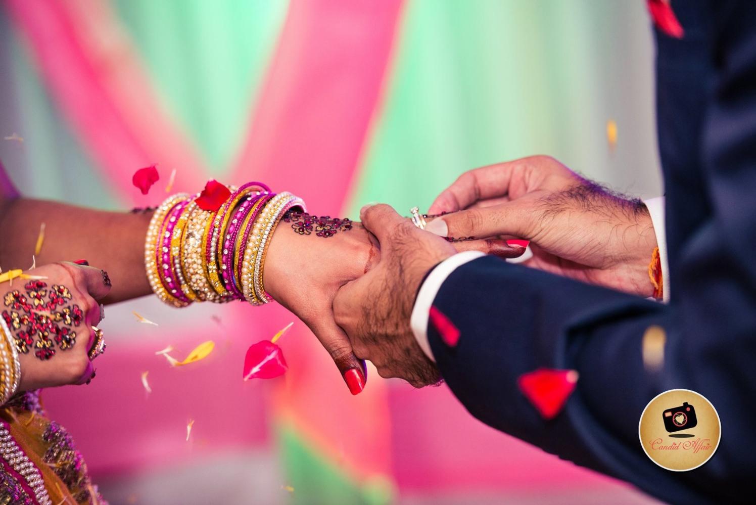 Ring ceremony by Candid Affair Wedding-photography | Weddings Photos & Ideas