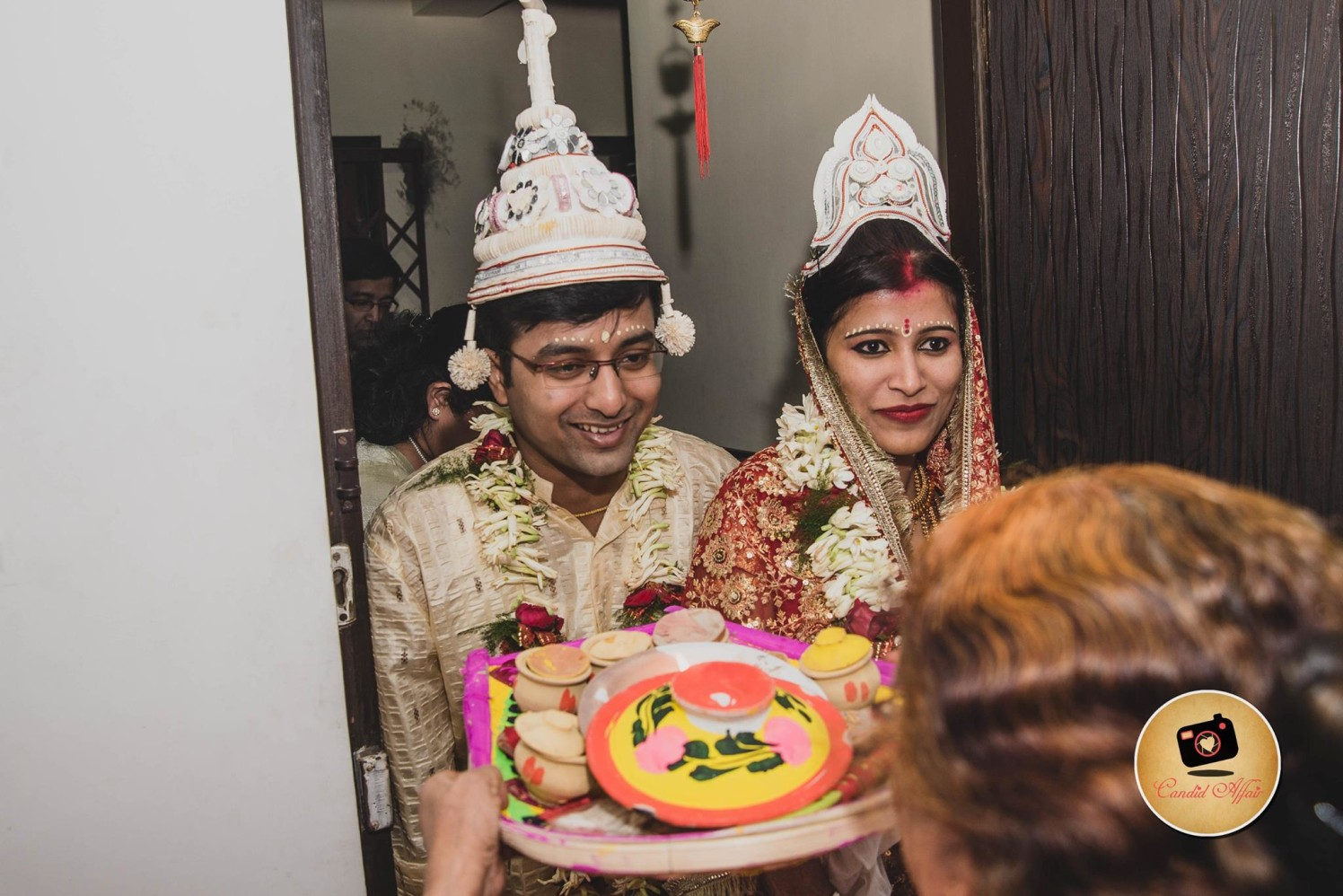 Grand welcome by Candid Affair Wedding-photography | Weddings Photos & Ideas