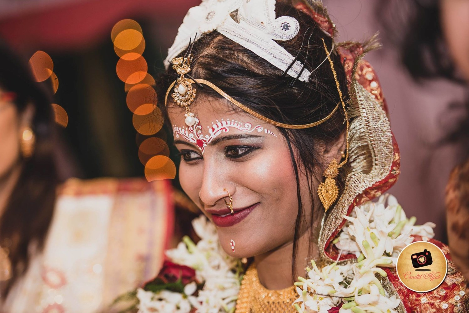 Satisfied beauty by Candid Affair Wedding-photography | Weddings Photos & Ideas