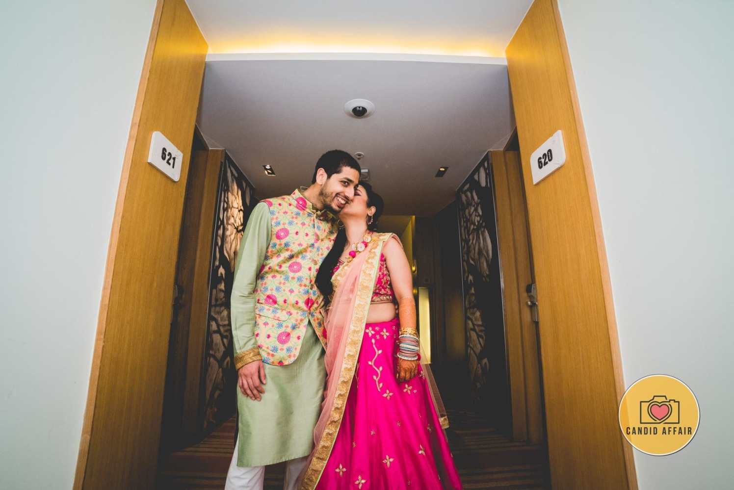 Candid Bride And Groom's Photography by Candid Affair Wedding-photography | Weddings Photos & Ideas