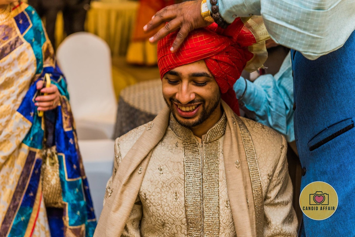 Getting Ready Shot of Groom by Candid Affair Wedding-photography Groom-wear-and-accessories | Weddings Photos & Ideas