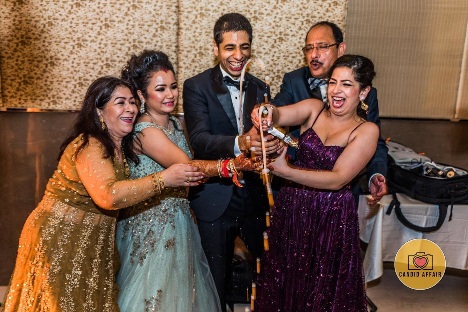 Wedding Reception Celebration by Candid Affair Wedding-photography | Weddings Photos & Ideas