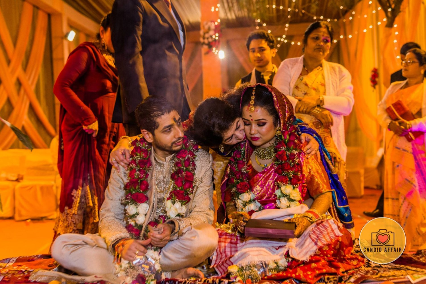 Candid Wedding Day Photography by Candid Affair Wedding-photography | Weddings Photos & Ideas