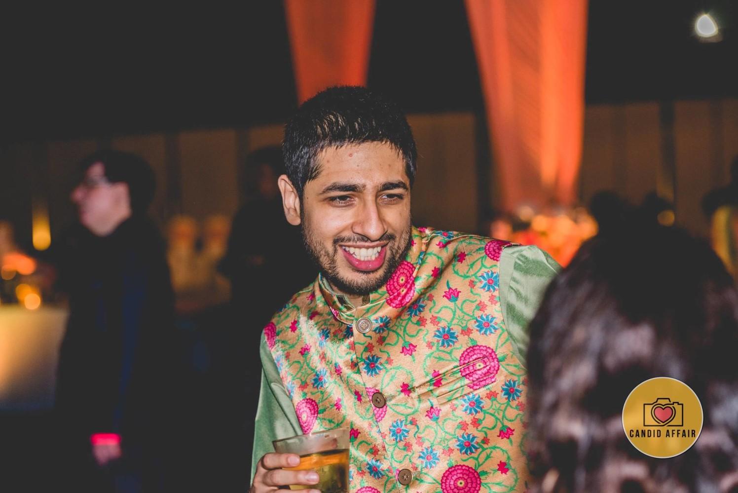 Groom's Candid Shot by Candid Affair Wedding-photography | Weddings Photos & Ideas