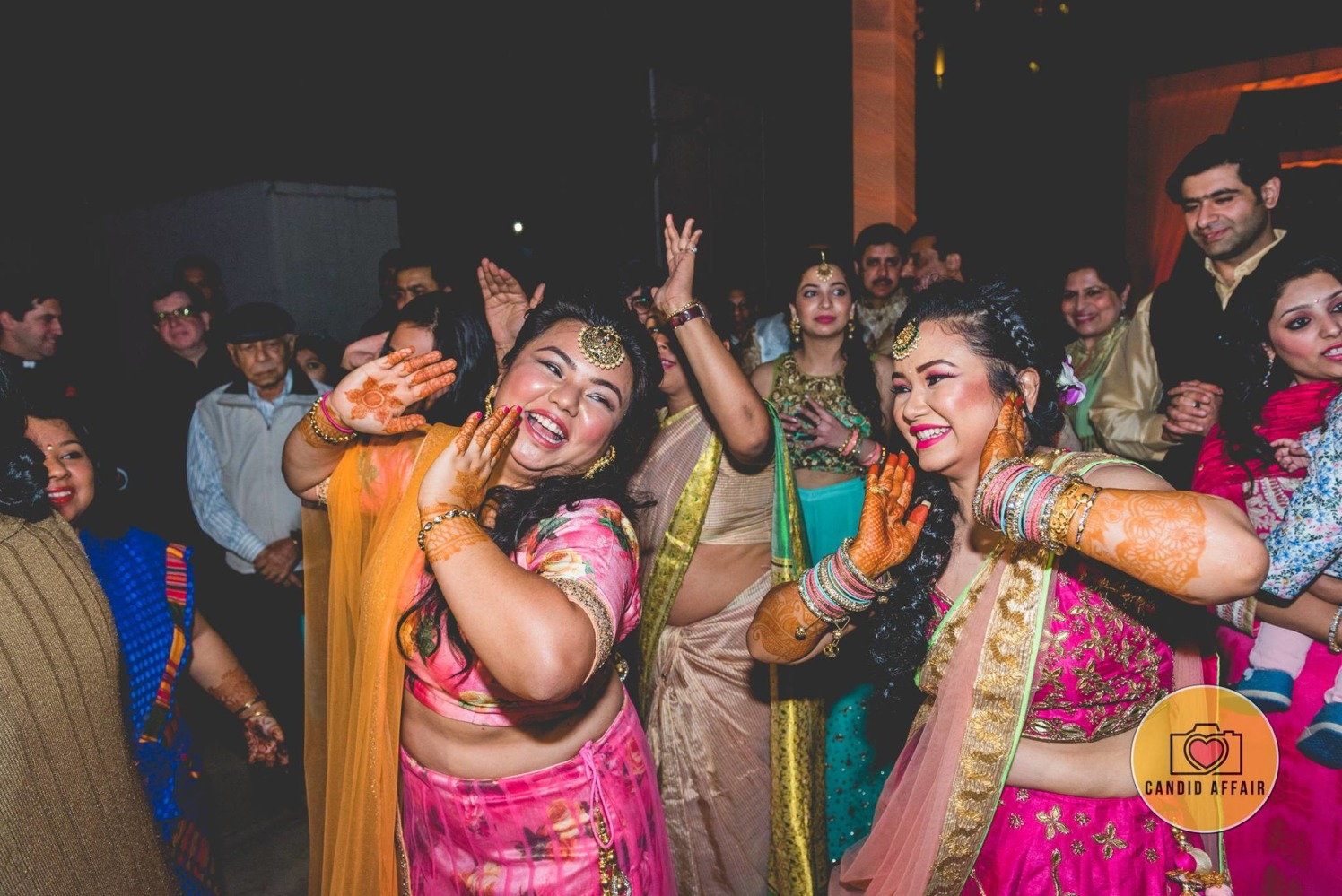 Candid Photography Of Bride On Sangeet by Candid Affair Wedding-photography | Weddings Photos & Ideas