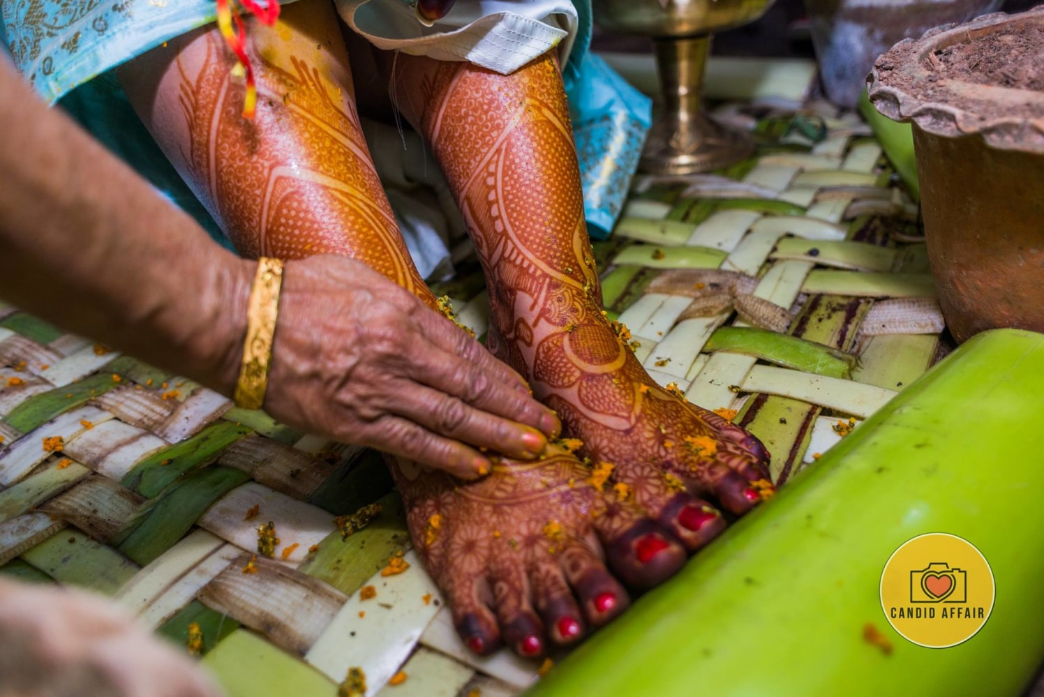 Haldi Ceremony Shot by Candid Affair Wedding-photography | Weddings Photos & Ideas