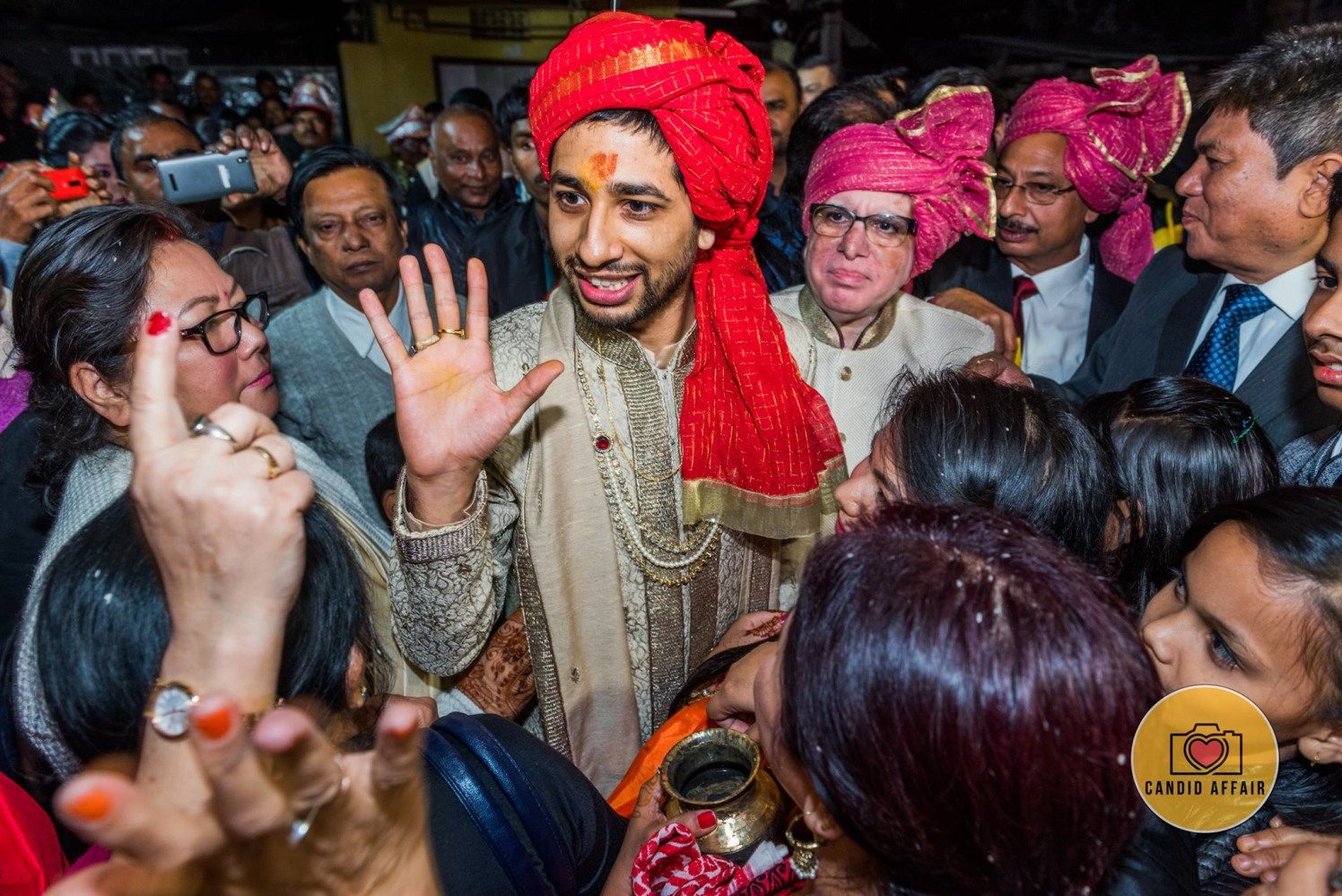 Baraat Shot Of Groom And Guests by Candid Affair Wedding-photography | Weddings Photos & Ideas