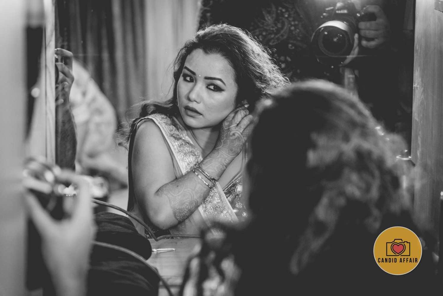 Getting Ready Shot by Candid Affair Wedding-photography | Weddings Photos & Ideas