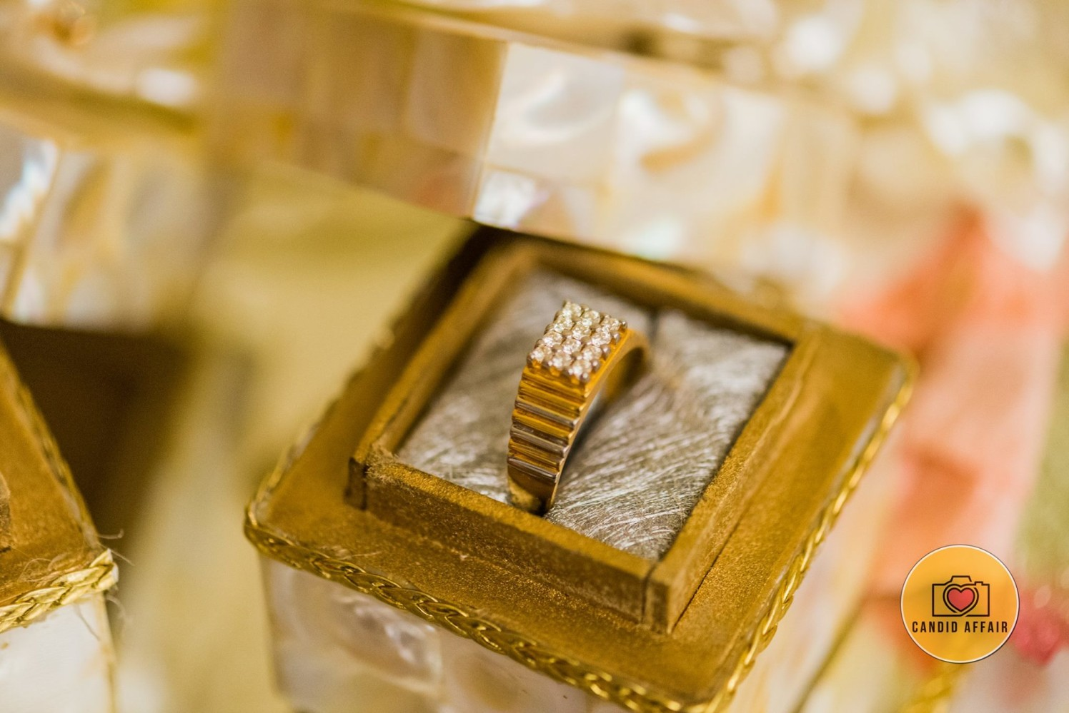 Groom's Ring Shot by Candid Affair Wedding-photography Groom-wear-and-accessories | Weddings Photos & Ideas
