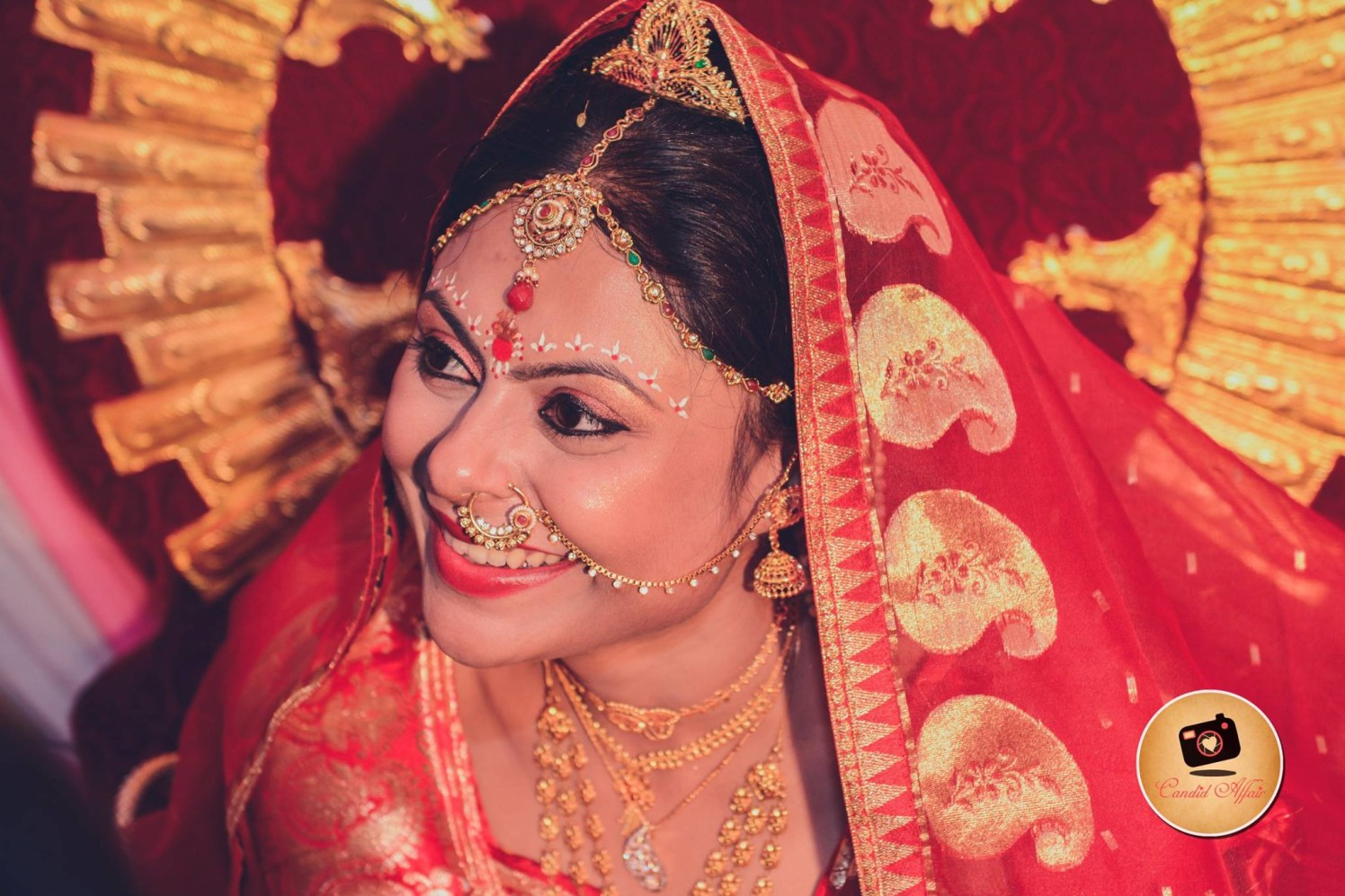 Gratified gaze by Candid Affair Wedding-photography | Weddings Photos & Ideas