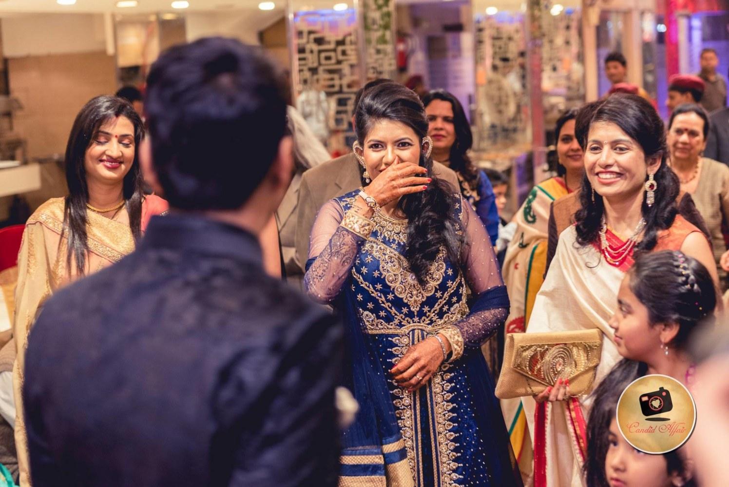 Sweet Chuckles by Candid Affair Wedding-photography | Weddings Photos & Ideas