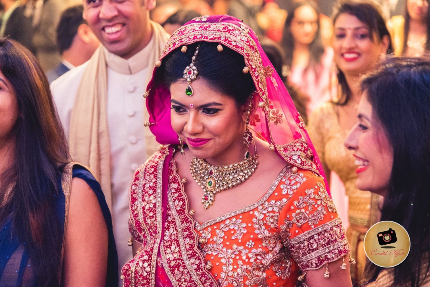 Indian Bride With Light And Natural Makeup by Candid Affair Wedding-photography Bridal-jewellery-and-accessories Bridal-makeup | Weddings Photos & Ideas