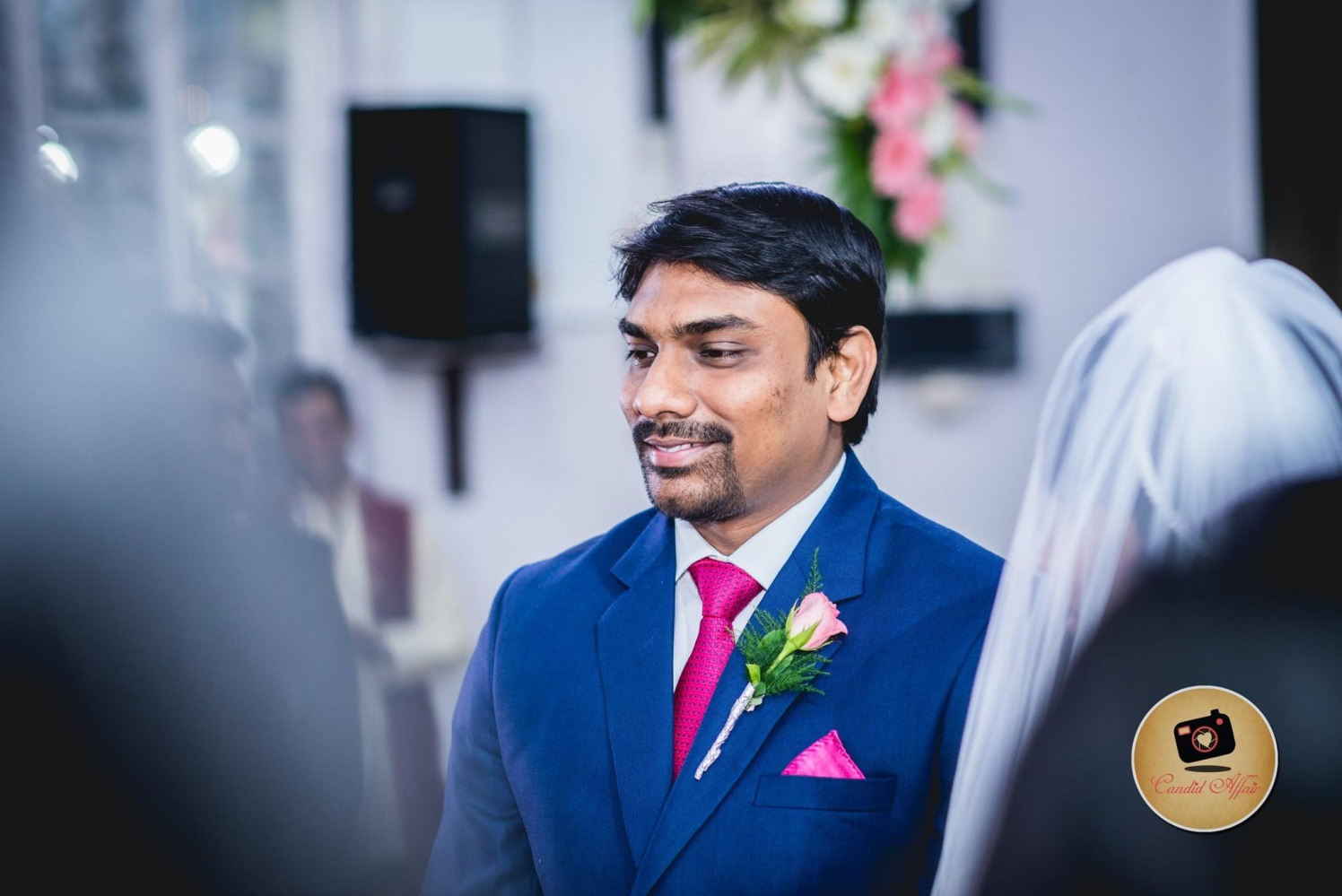 Groom's Shot On Wedding Day by Candid Affair Wedding-photography | Weddings Photos & Ideas
