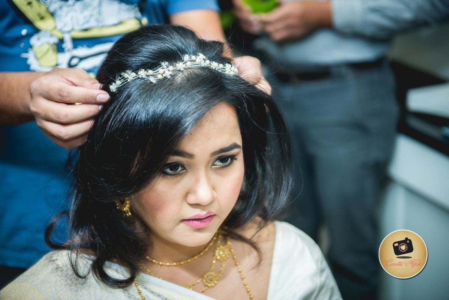 Tiara of pride by Candid Affair Wedding-photography | Weddings Photos & Ideas