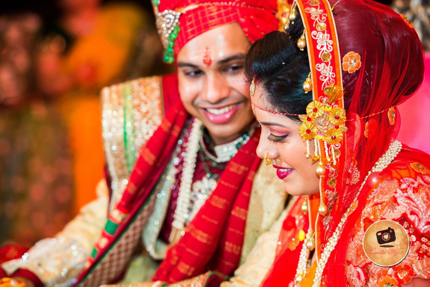 Couple Portrait On Wedding Day by Candid Affair Wedding-photography | Weddings Photos & Ideas