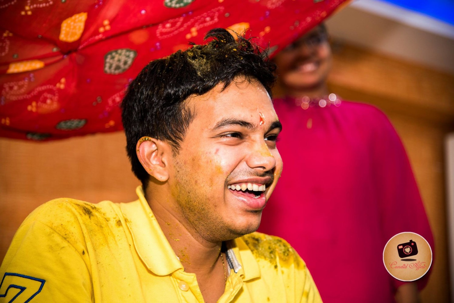 Groom-To-Be Haldi Shot by Candid Affair Wedding-photography | Weddings Photos & Ideas