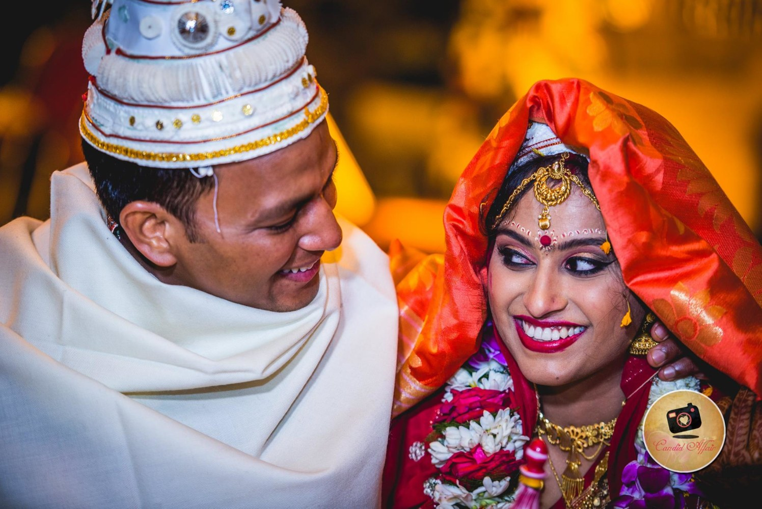 Bengali Bride And Groom Portrait by Candid Affair Wedding-photography | Weddings Photos & Ideas
