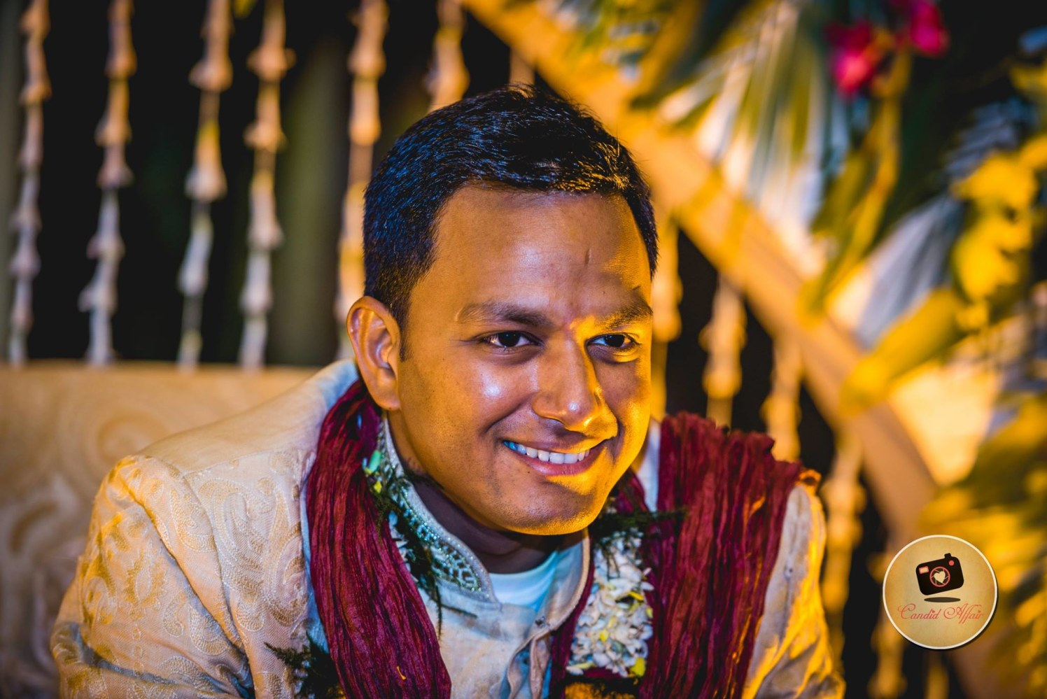 Handsome Groom On Wedding day by Candid Affair Wedding-photography | Weddings Photos & Ideas