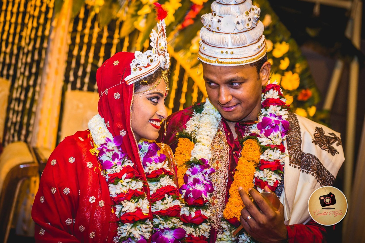 Candid Shot Of The Coupe On Their Special Day by Candid Affair Wedding-photography   Weddings Photos & Ideas