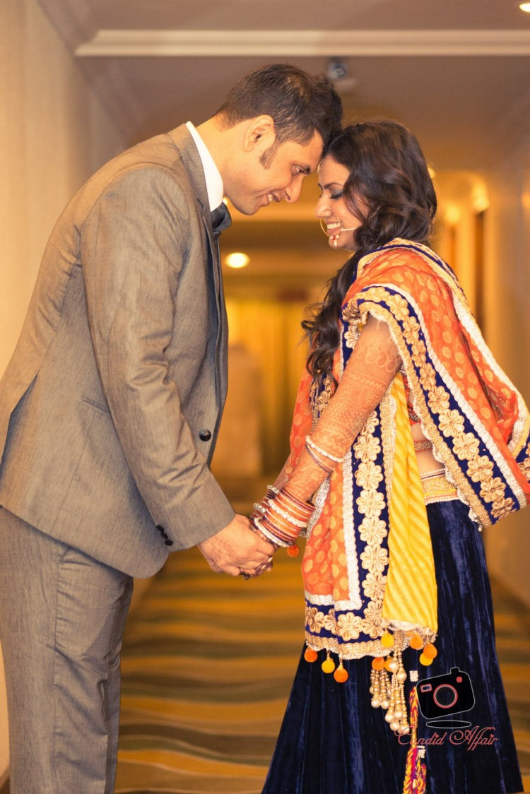 Couple Portrait On Wedding Reception by Candid Affair Wedding-photography   Weddings Photos & Ideas