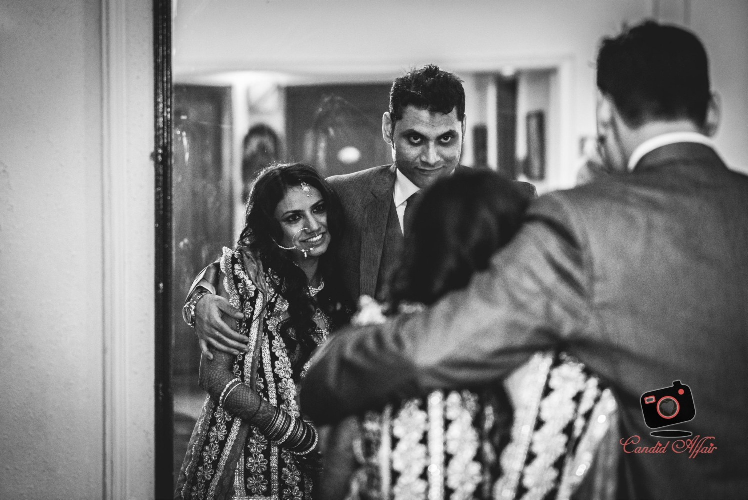 Admiring each other by Candid Affair Wedding-photography | Weddings Photos & Ideas