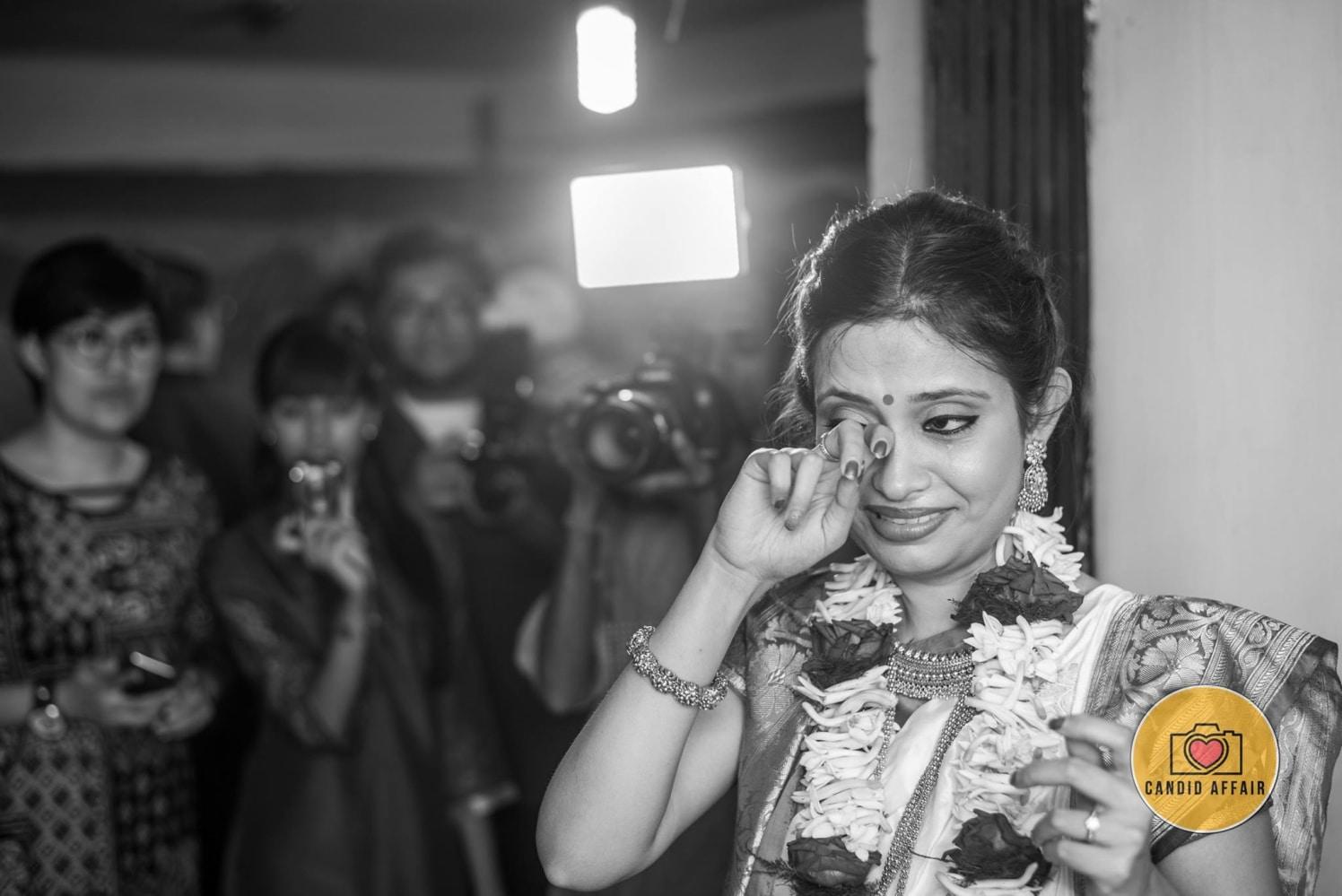 Vidai Shot Of Bride On Wedding Day by Candid Affair Wedding-photography | Weddings Photos & Ideas